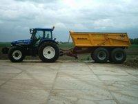 Transport met Grondkipper (18 ton)